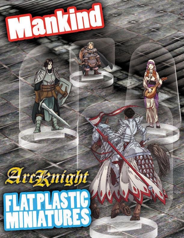 Flat Plastic Miniatures: Mankind Box Front