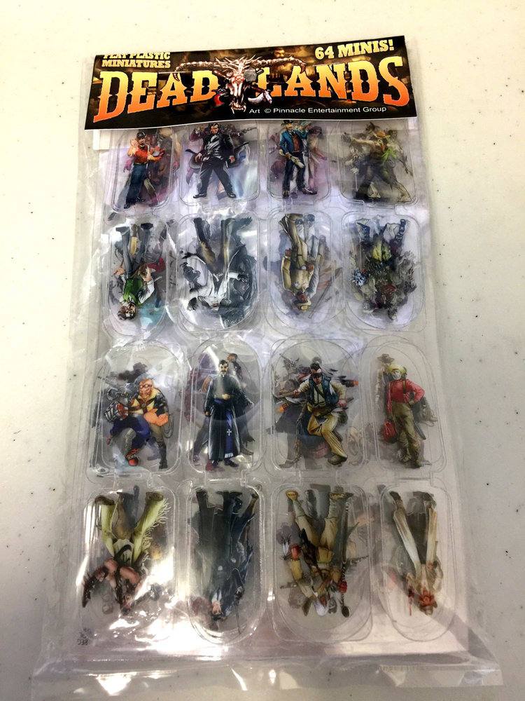 Flat Plastic Miniatures: Deadlands