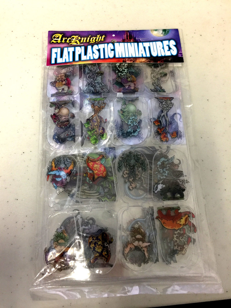 Flat Plastic Miniatures: Printable Heroes - Oddballs & Extras