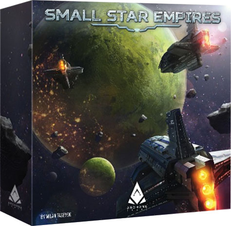 Small Star Empires Game Box