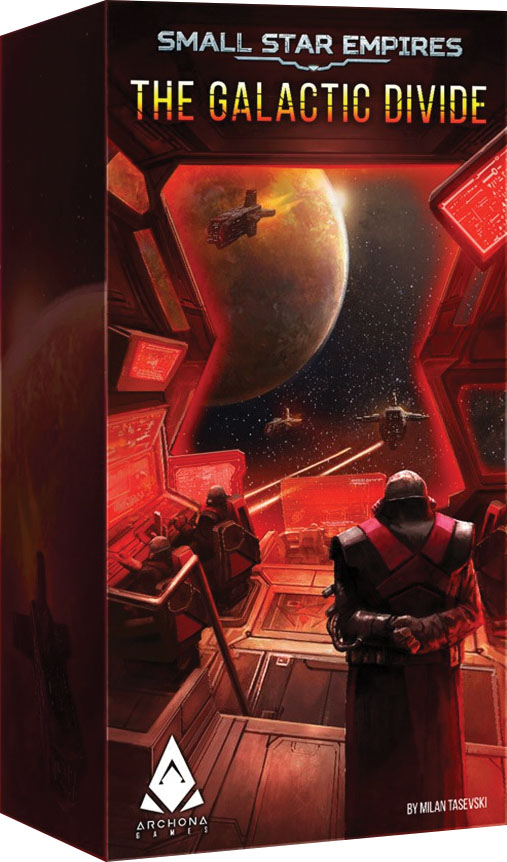 Small Star Empires: The Galactic Divide Game Box
