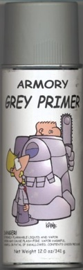 Paint: Armory Spray Primer (grey) Game Box