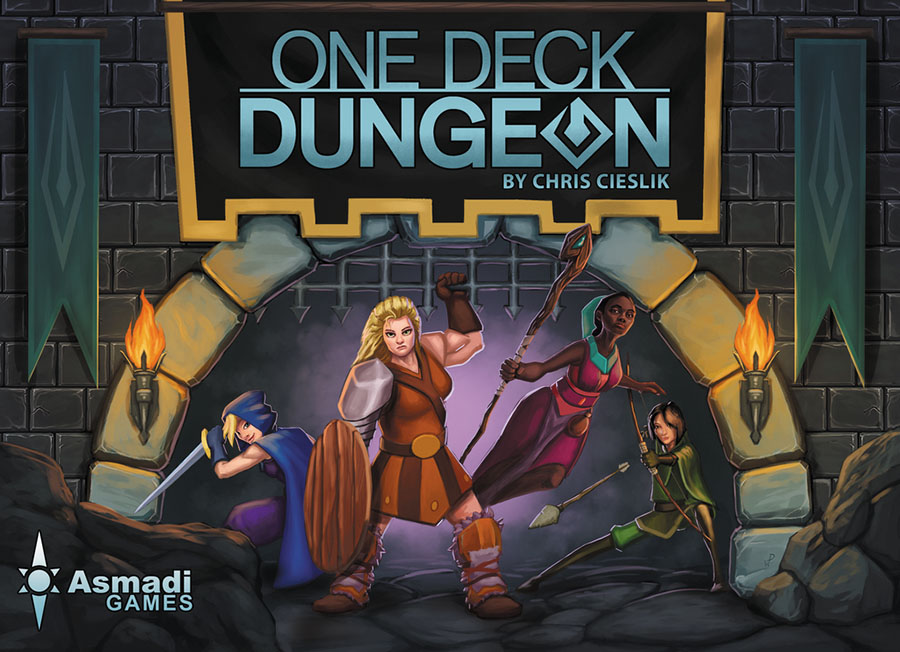 One Deck Dungeon Box Front