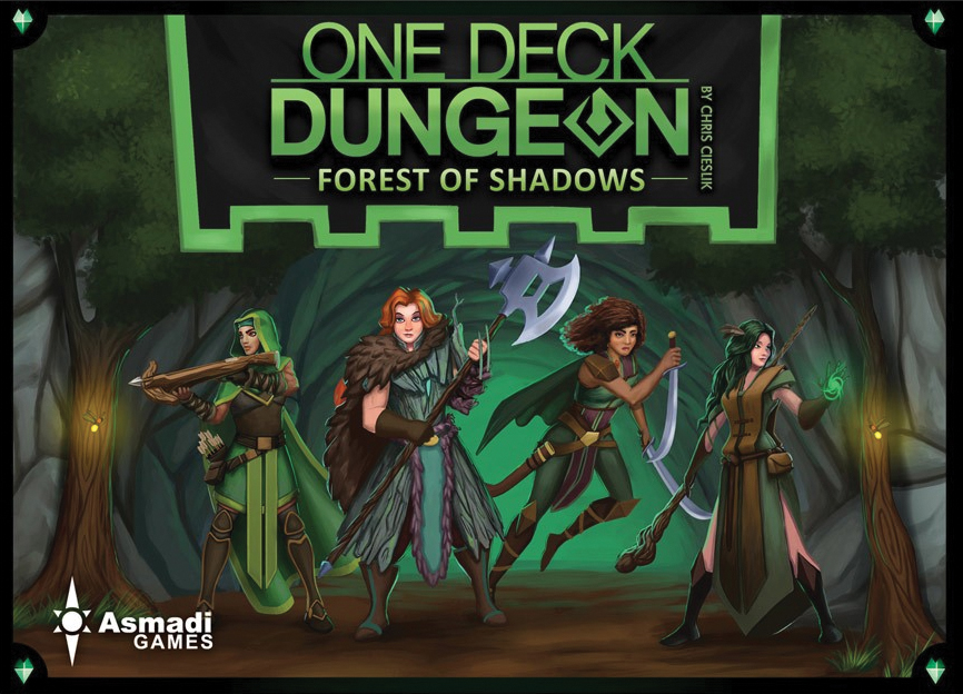 One Deck Dungeon: Forest Of Shadows Box Front