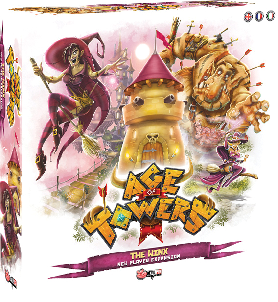 Age Of Towers: The Winx Expansion Box Front