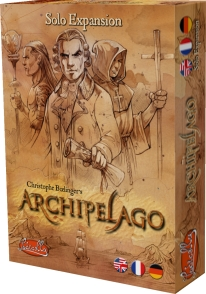 Archipelago: Solo Expansion Box Front