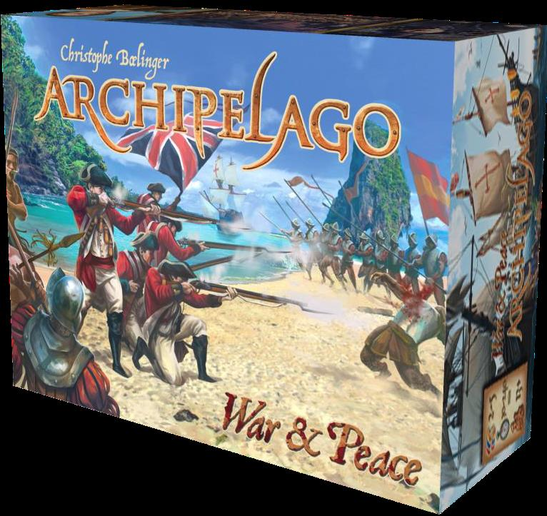 Archipelago: War And Peace Expansion Box Front