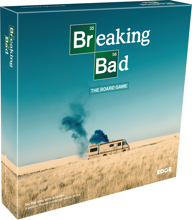 Breaking Bad: The Board Game Box Front