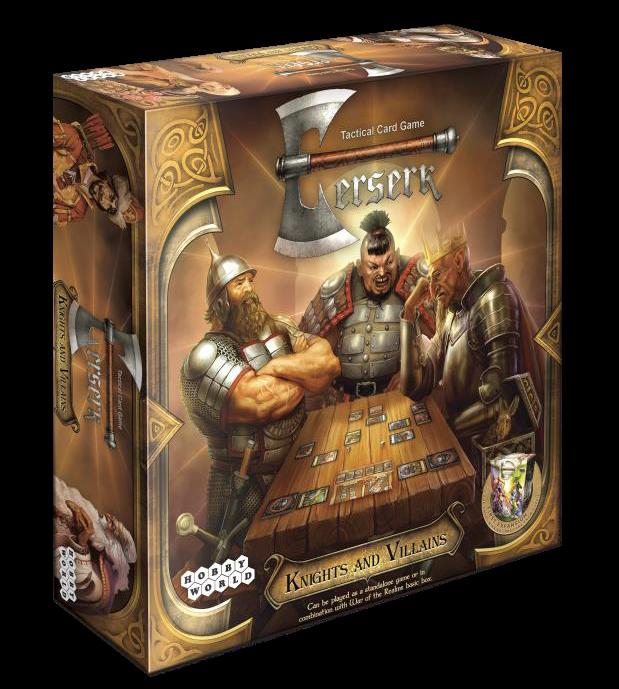 Berserk: Knights And Villains Expansion Box Front