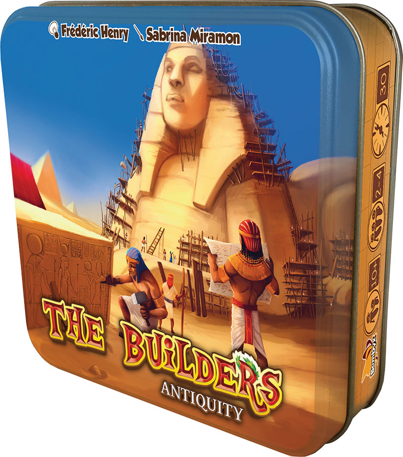 The Builders: Antiquity (stand Alone) Box Front