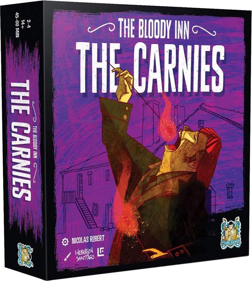 The Bloody Inn: The Carnies Expansion Box Front