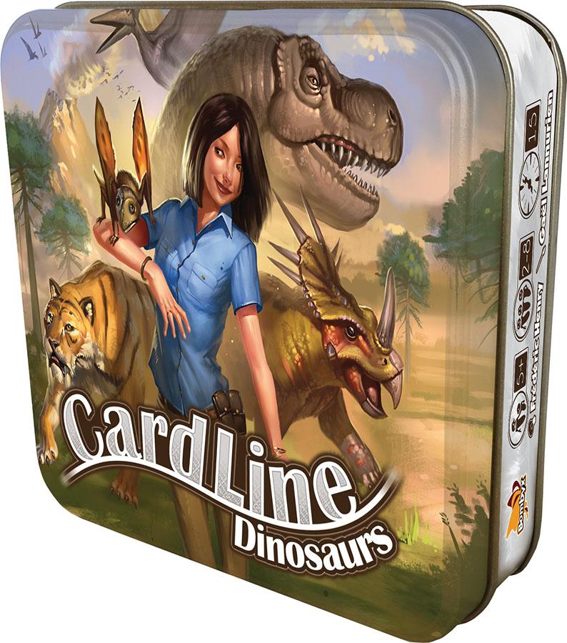 Cardline: Dinosaurs Box Front