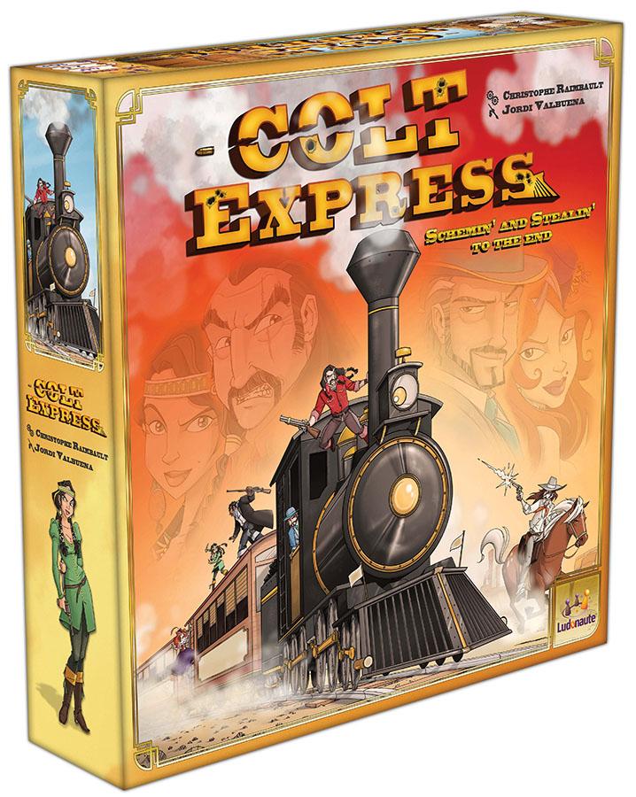 Colt Express Box Front