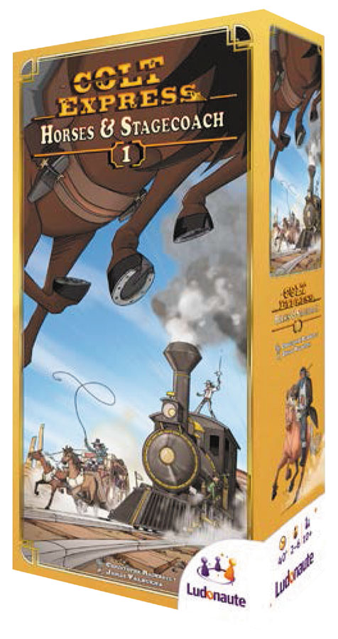 Colt Express: Horses & Stagecoach Expansion Box Front