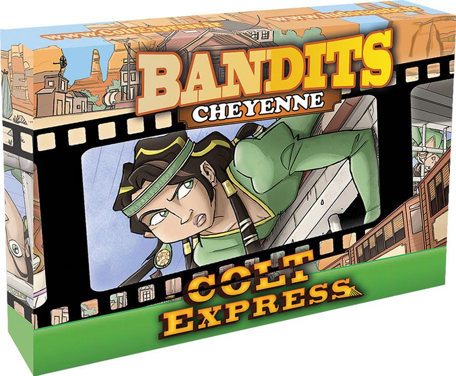 Colt Express: Bandit Pack - Cheyenne Expansion Game Box