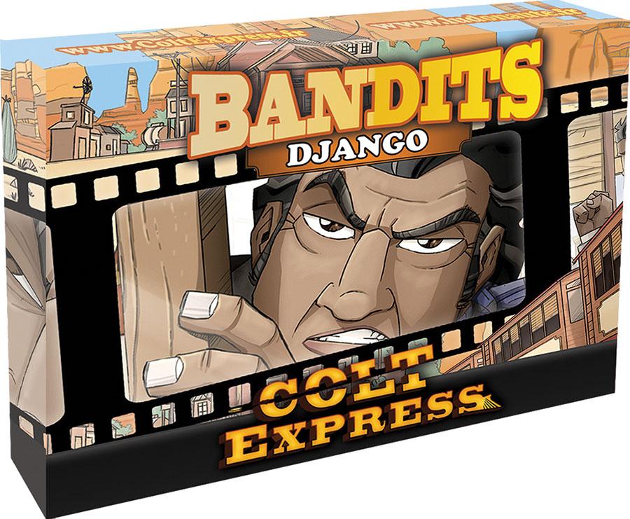 Colt Express: Bandit Pack - Django Expansion Game Box