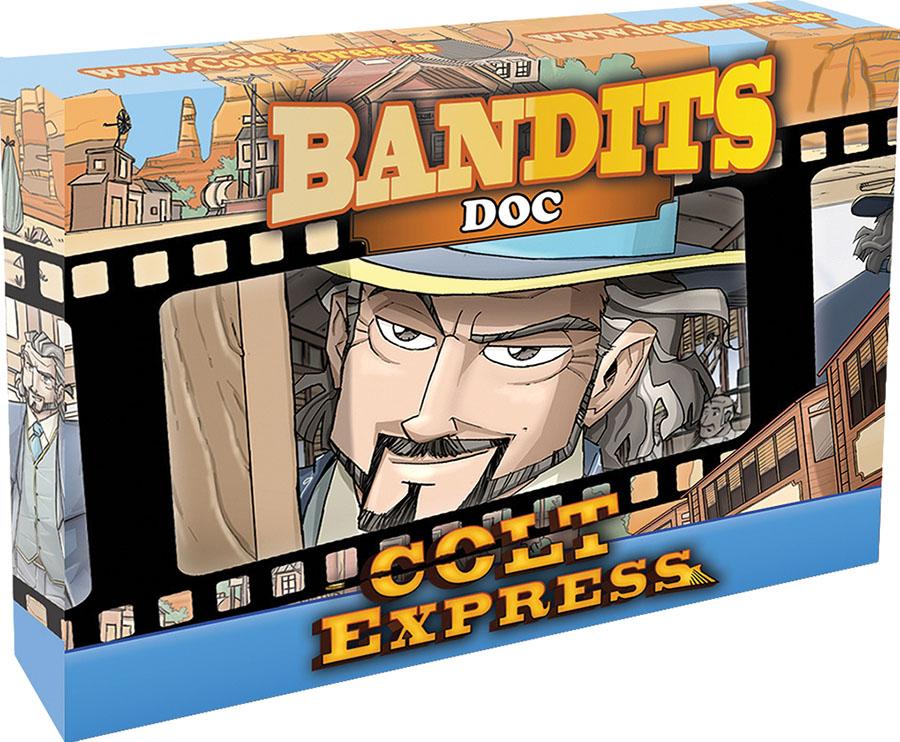 Colt Express: Bandit Pack - Doc Expansion Game Box