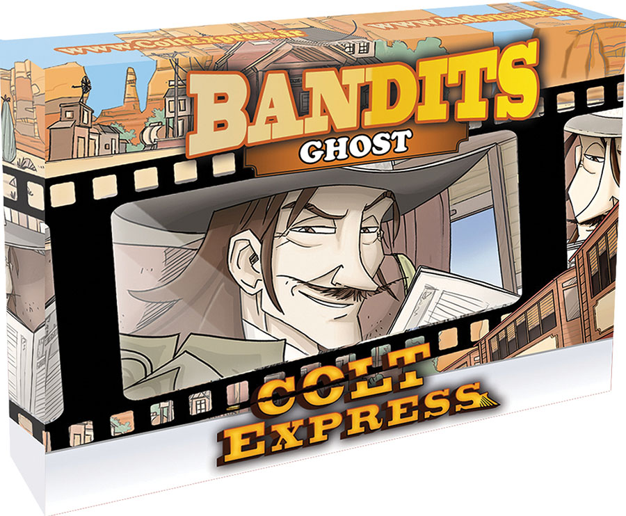 Colt Express: Bandit Pack - Ghost Expansion Game Box