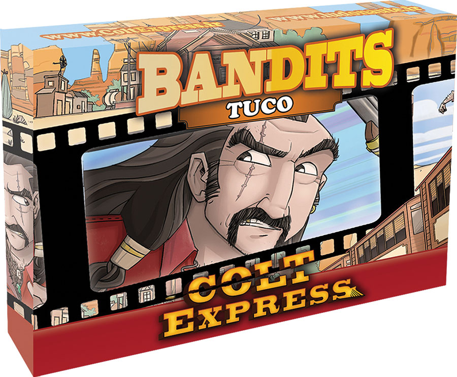 Colt Express: Bandit Pack - Tuco Expansion Game Box