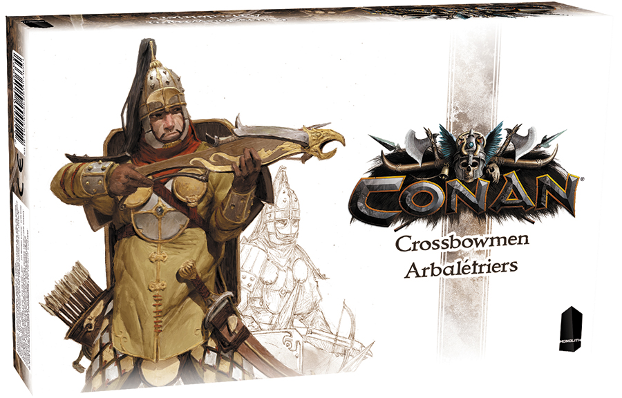 Conan: Crossbowmen Expansion Box Front