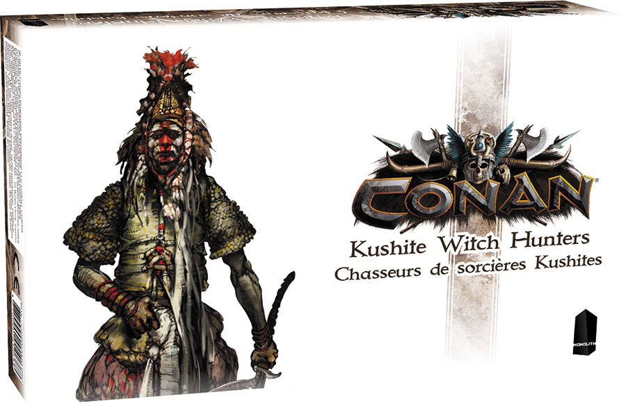 Conan: Kushite Witch Hunters Expansion Box Front