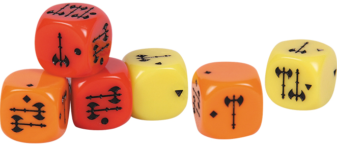 Conan: Dice Pack Box Front