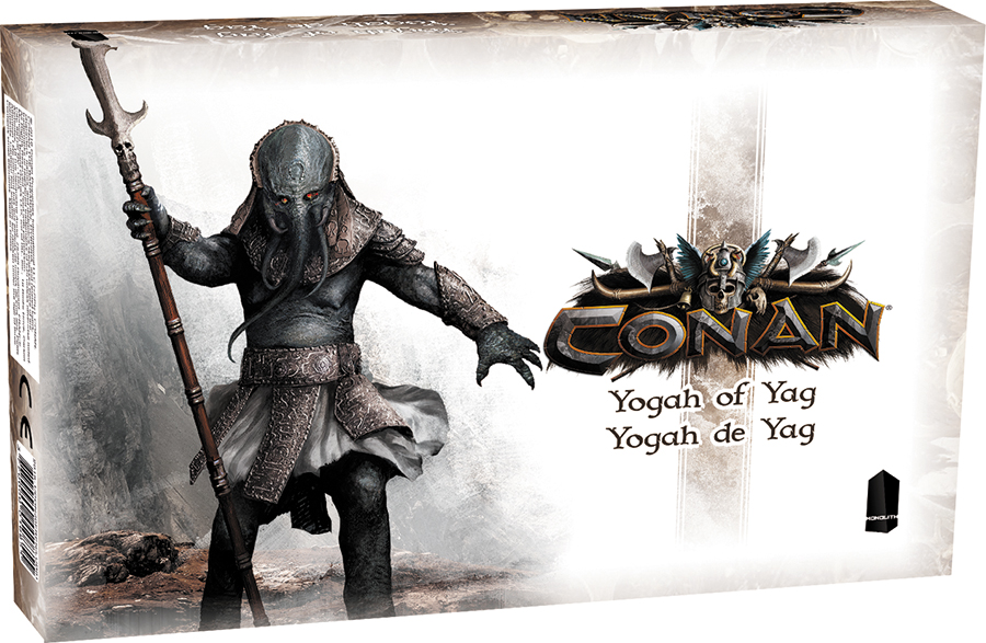 Conan: Yogah Of Yag Expansion Box Front