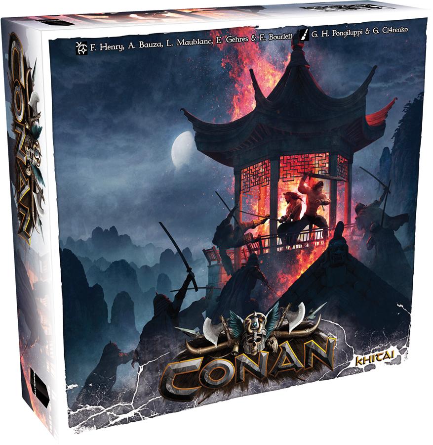 Conan: Khitai Expansion Box Front