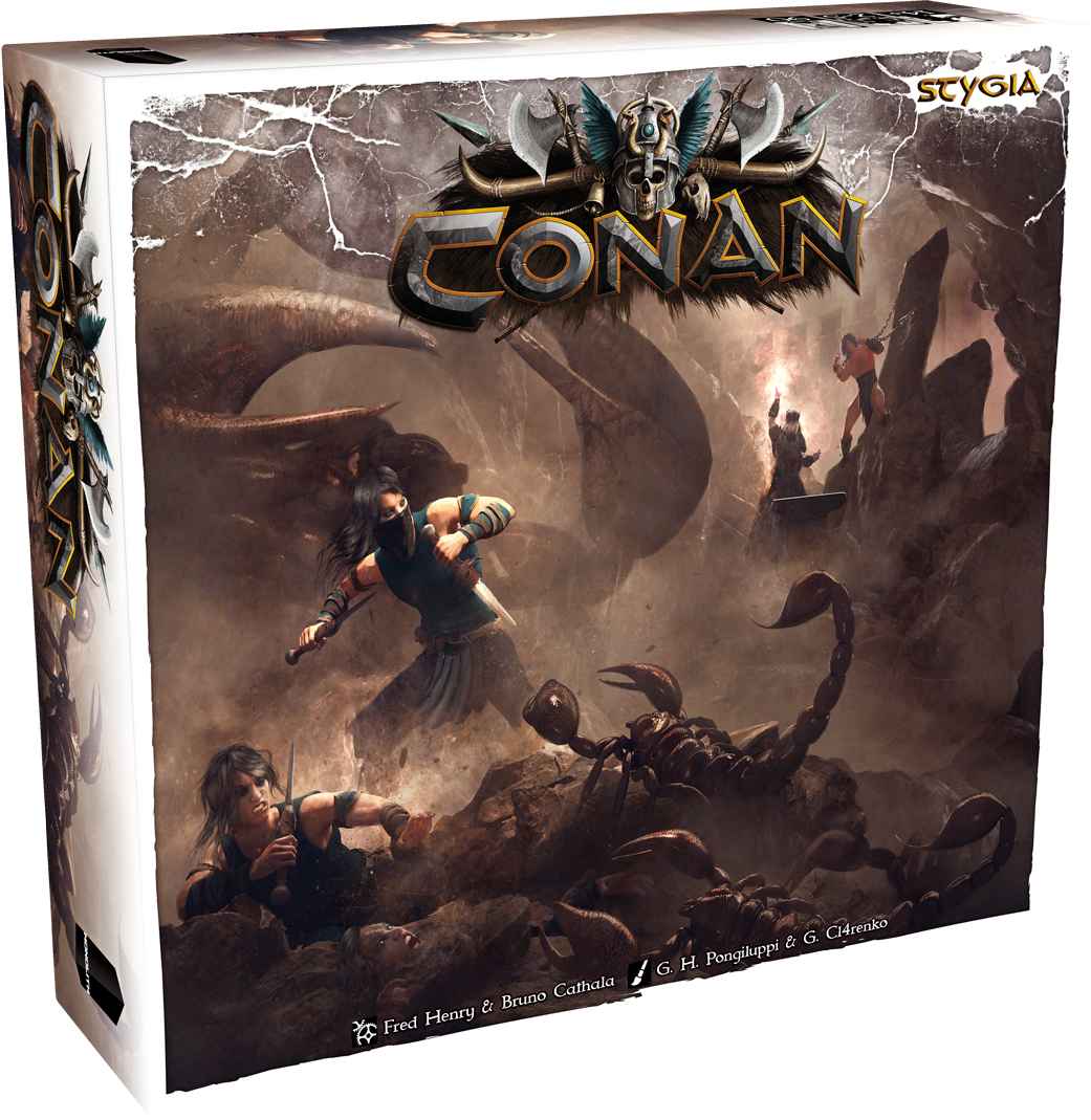 Conan: Stygia Expansion Box Front
