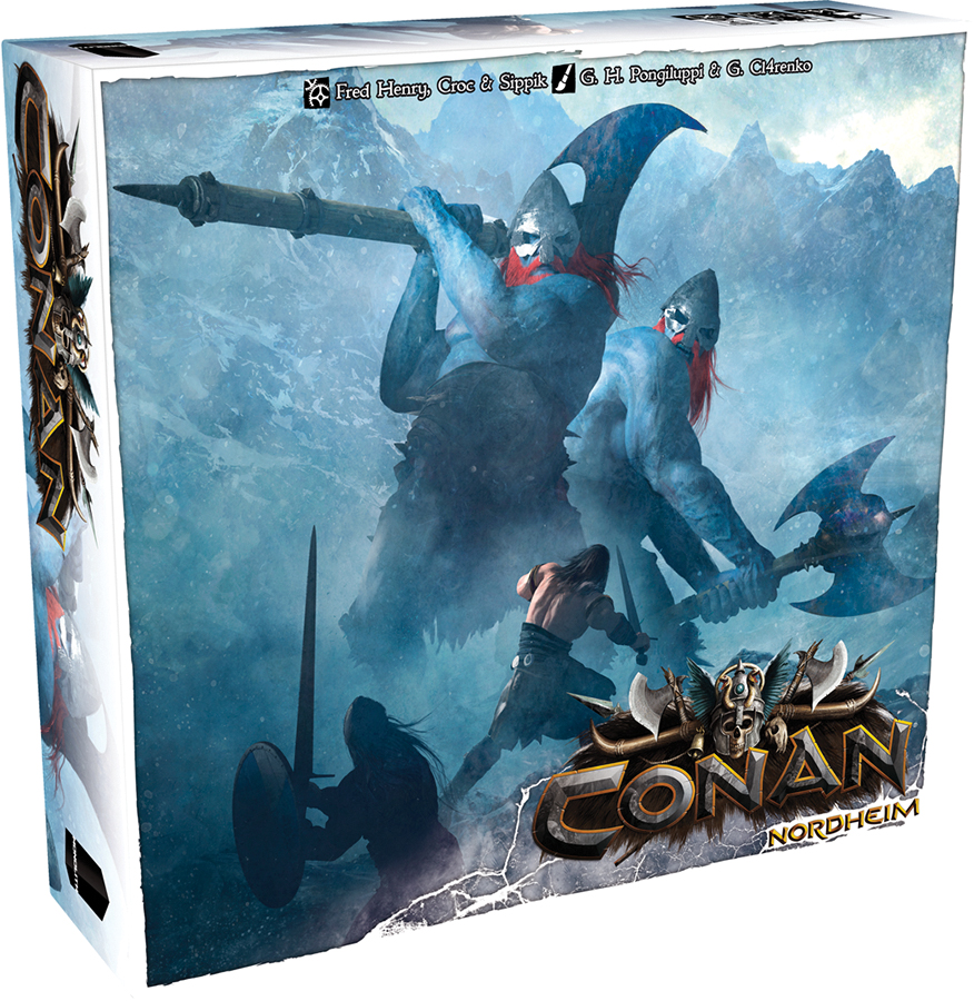 Conan: Nordheim Expansion Box Front