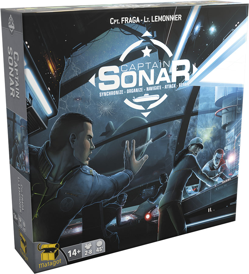 Captain Sonar Box Front