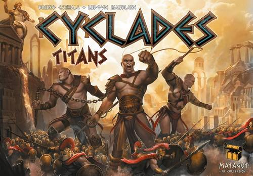 Cyclades: Titans Expansion Box Front