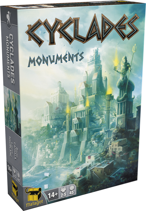 Cyclades: Monuments Expansion Box Front