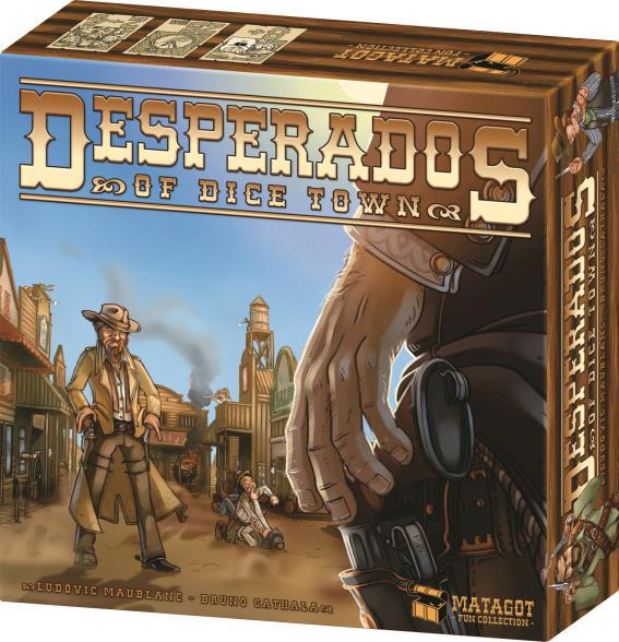 Desperados Of Dice Town Box Front
