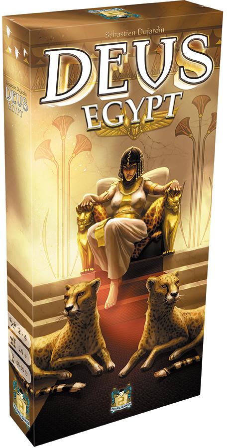 Deus: Egypt Expansion Box Front