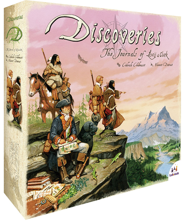 Discoveries The Journals Of Lewis And Clark Box Front