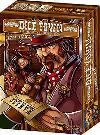 Dice Town Expansion Box Front