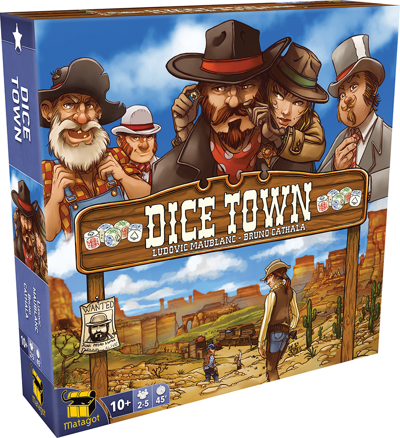 Dice Town (revised Edition) Box Front