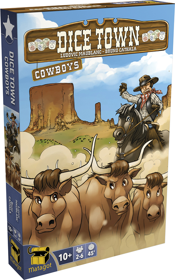 Dice Town: Cowboy Expansion Box Front