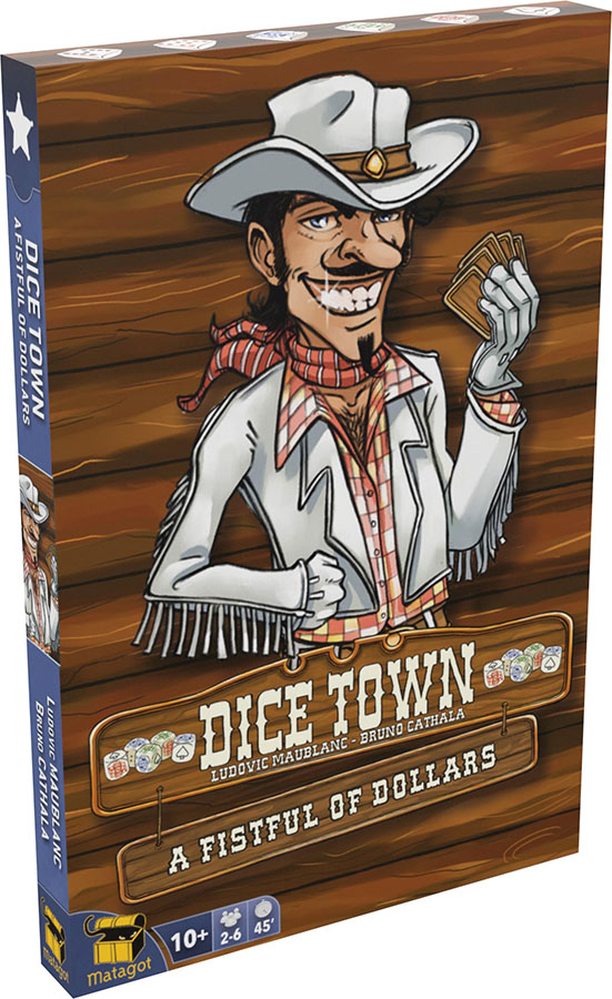 Dice Town: A Fistful Of Dollars Expansion Game Box
