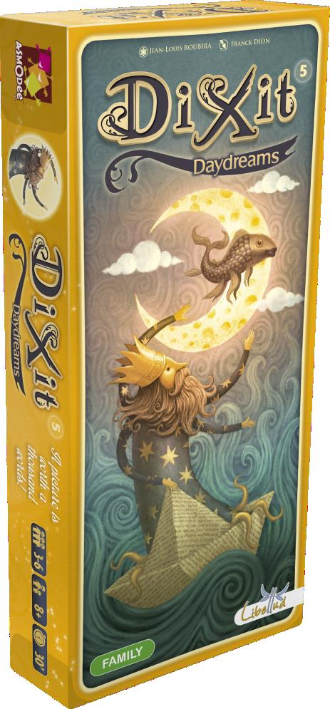 Dixit: Daydreams Expansion Box Front