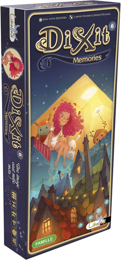 Dixit: Memories Expansion Box Front