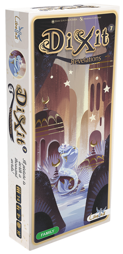 Dixit: Revelations Expansion Box Front