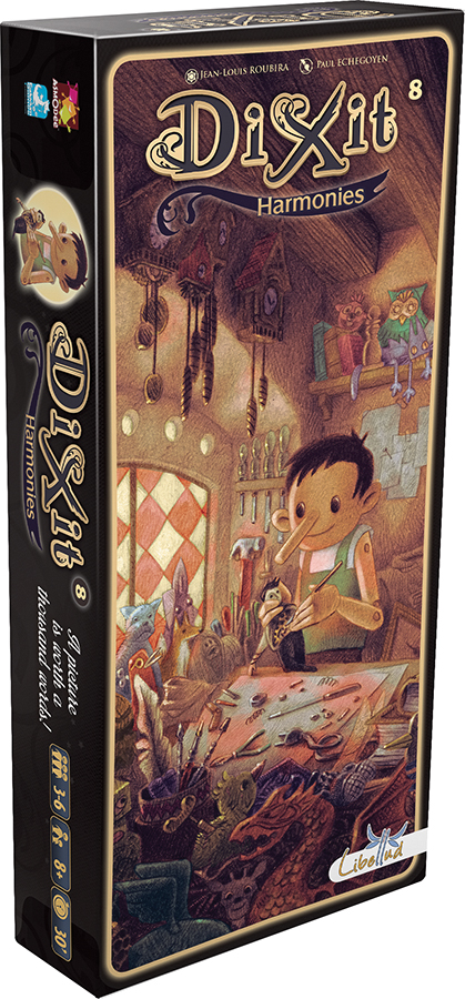 Dixit: Harmonies Expansion Box Front