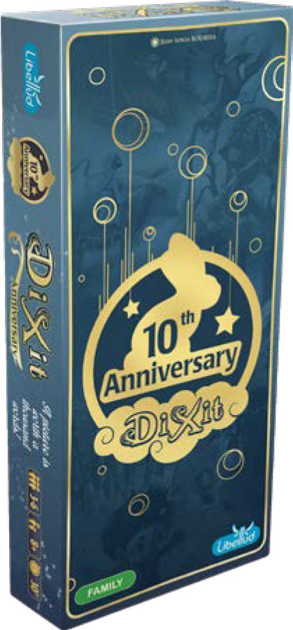 Dixit: Anniversary Expansion Game Box