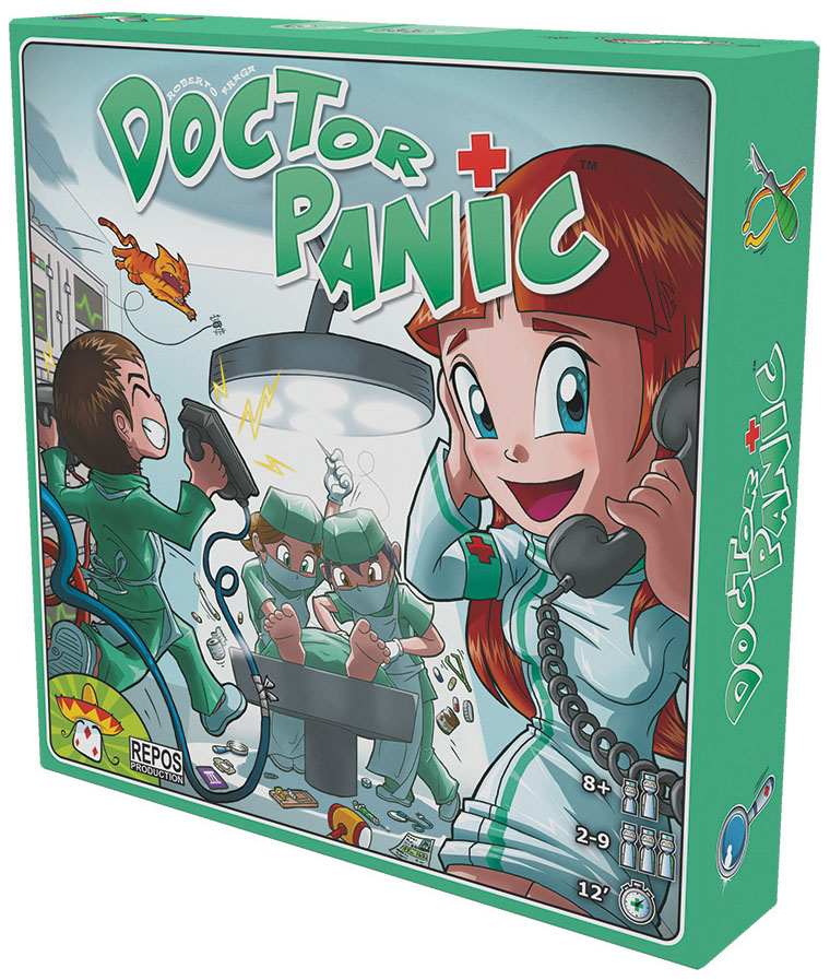 Doctor Panic Box Front