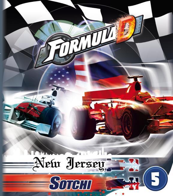 Formula D: Expansion 5 - Sotchi Box Front