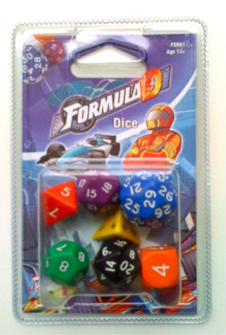 Formula D: Dice Box Front