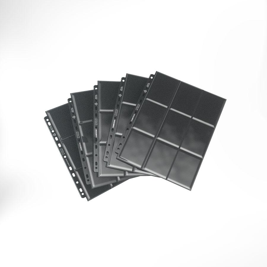 18-pocket Pages: Black Side-loading 237mm X 296mm (10)