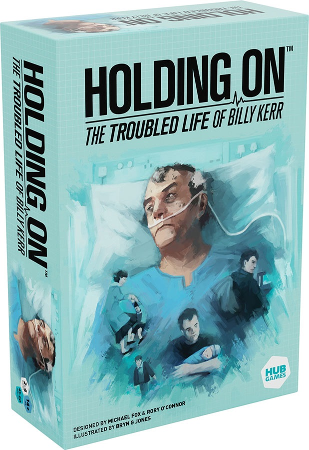 Holding On: The Troubled Life Of Billy Kerr - Demo Copy Game Box